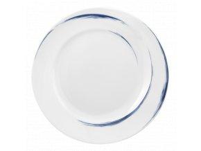 Paso Blue Brush Kulatý dezertní talíř 23 cm, Seltmann Weiden
