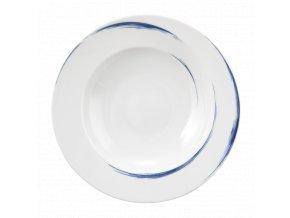 Paso Blue Brush Kulatý hluboký talíř 22,5 cm, Seltmann Weiden