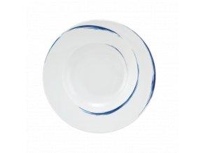 Paso Blue Brush Kulatý těstovinový talíř 27 cm, Seltmann Weiden