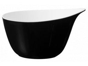 Fashion Glamorous Black Miska na müsli 0.6 ltr., Seltmann Weiden