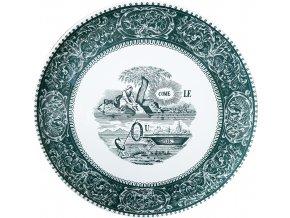 1841CF0203 Grand plat Rebus