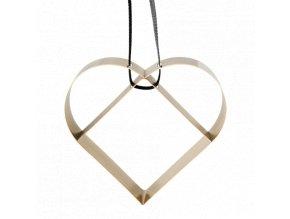 Figura Srdce velké mosazné, Stelton