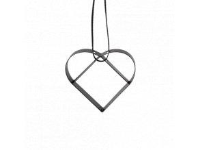 Figura Srdce malé černé, Stelton