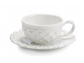 Trame in Bianco Šálek na čaj s podšálkem, Lamart