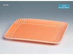 Pattiserie Oranžový obdélníkový podnos 23 cm, Lamart