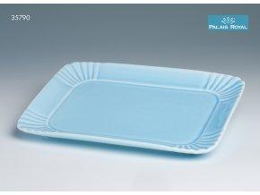 Pattiserie Modrý obdélníkový podnos 23 cm, Lamart