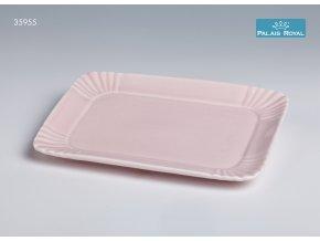 Pattiserie Růžový obdélníkový podnos 23 cm, Lamart