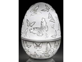Pasqua Dóza vejce s LED osvětlením 9 cm Transparenze, Lamart
