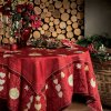 L'HIVER červený ubrus, Beauvillé