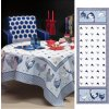 Picoti modrý běhoun 50x150 cm, Beauvillé