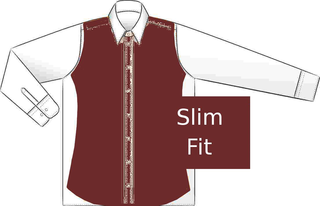 Slim fit - vyštíhlené