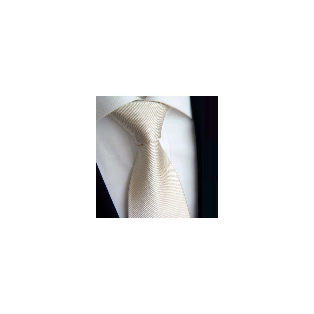 Luxusní ivory kravata Tom Harrison