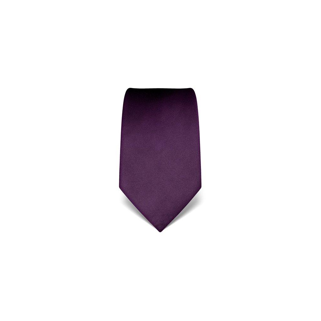Vincenzo Boretti 1926 tmavě fialová luxusní kravata