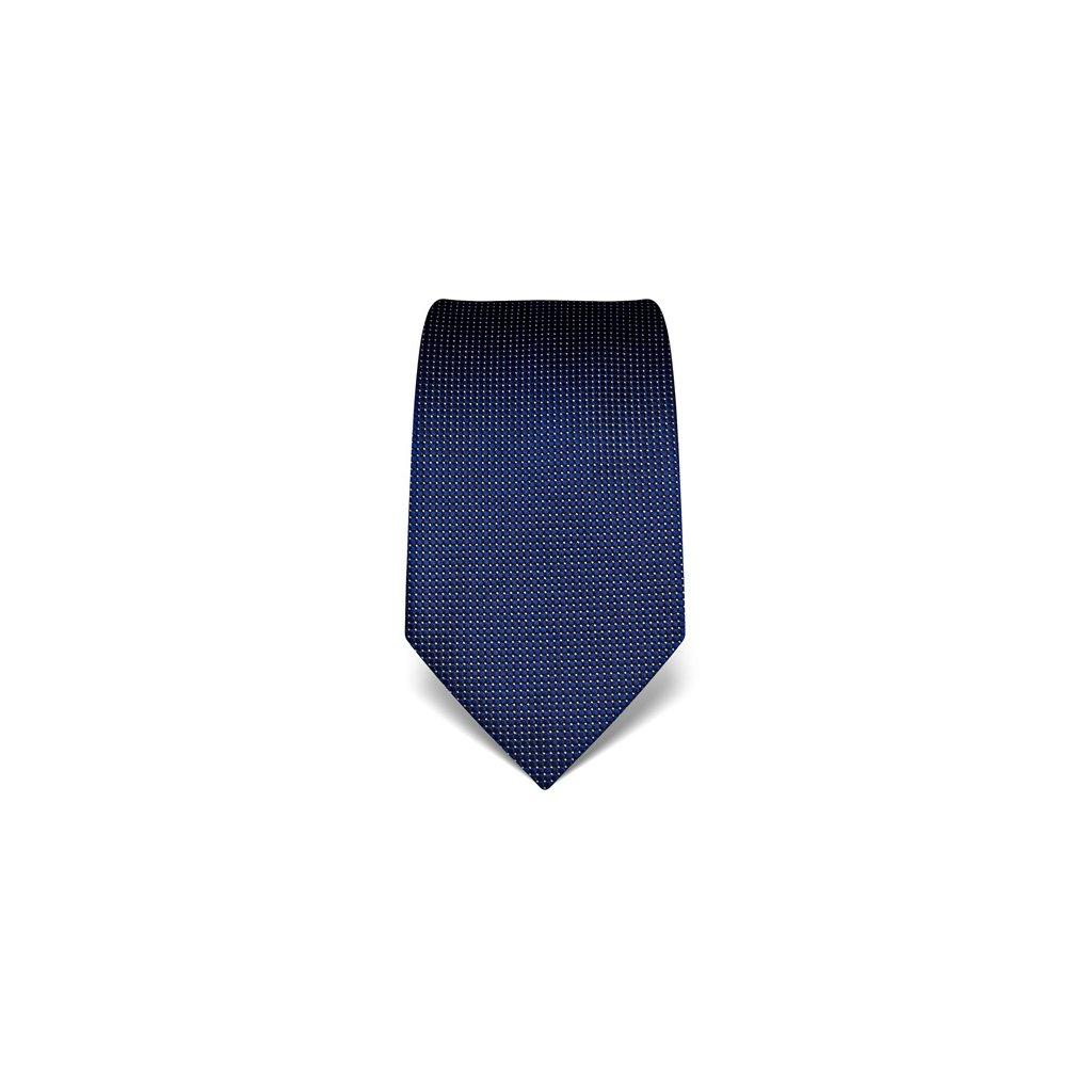Tmavě modrá manažerská kravata Vincenzo Boretti 21920