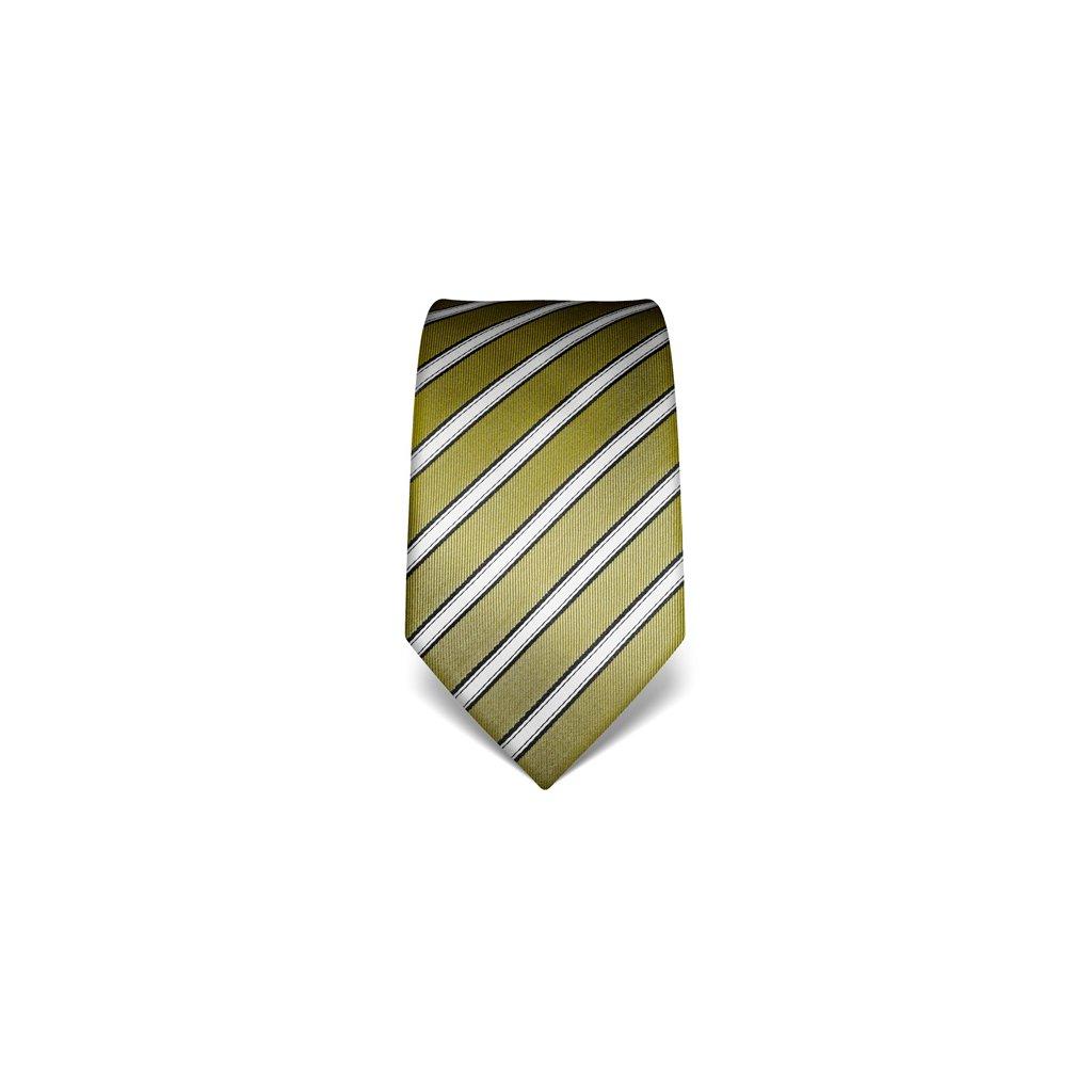 Zelená kravata Vincenzo Boretti 21996