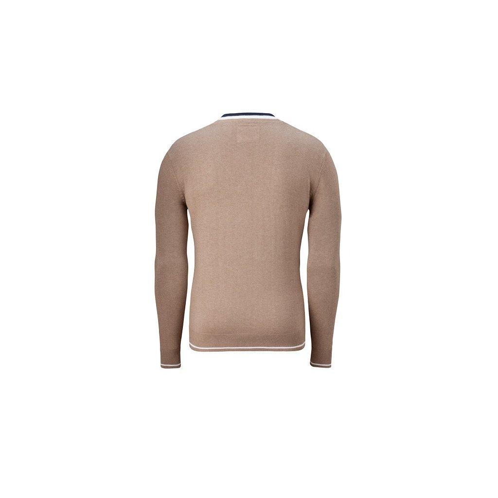 ... sépiová · Pánský svetr Vincenzo Boretti 46d9e3736a