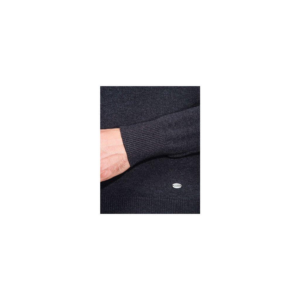 Pánský svetr Vincenzo Boretti - antracit - Luxusní móda 1525e0eaca
