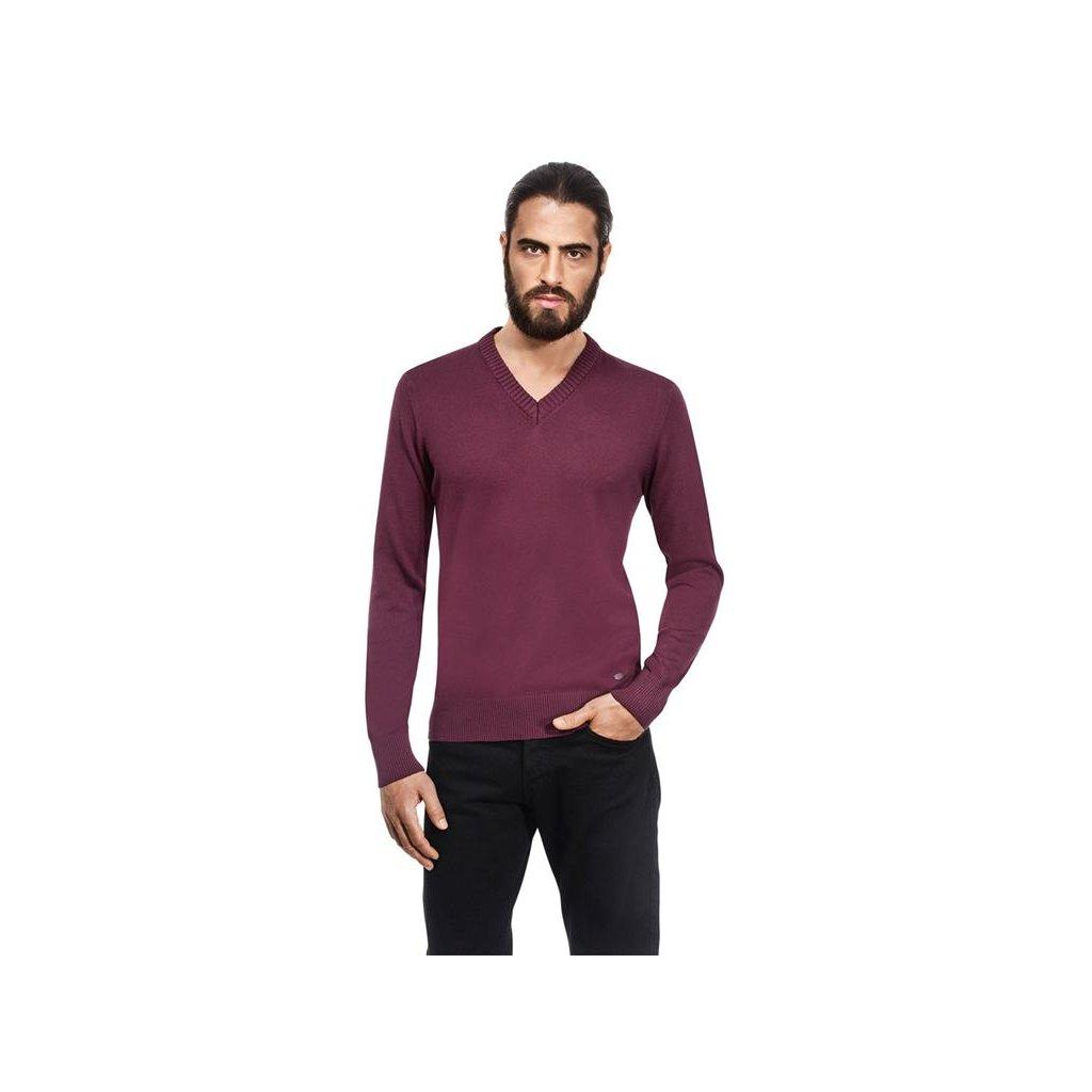 Pánský svetr Vincenzo Boretti - lilek