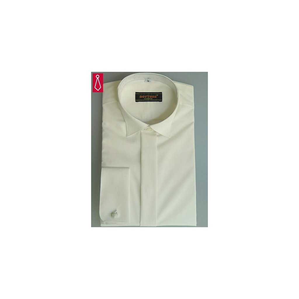 Champange smokingová košile Beytnur - na manžetové knoflíčky