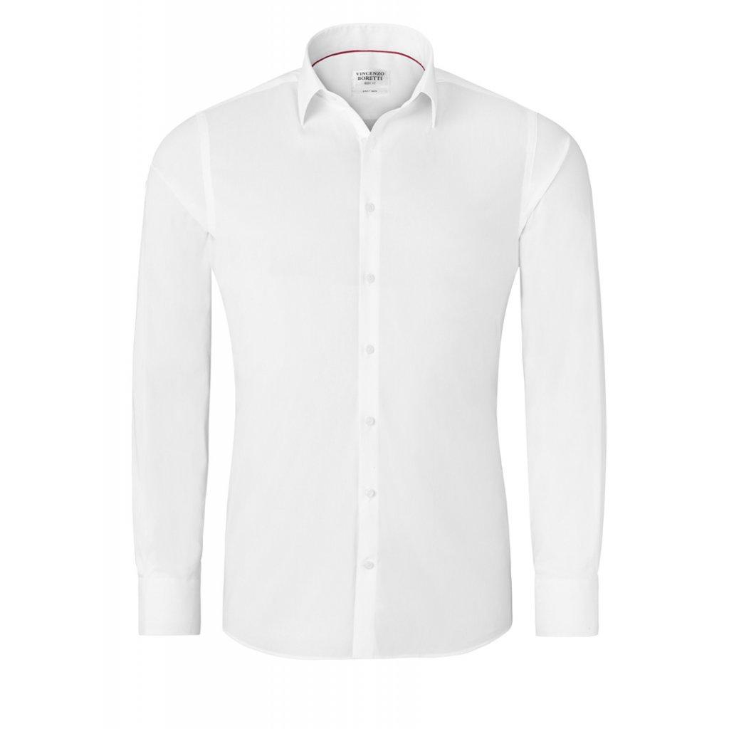 Vincenzo Boretti bílá košile BodyFit