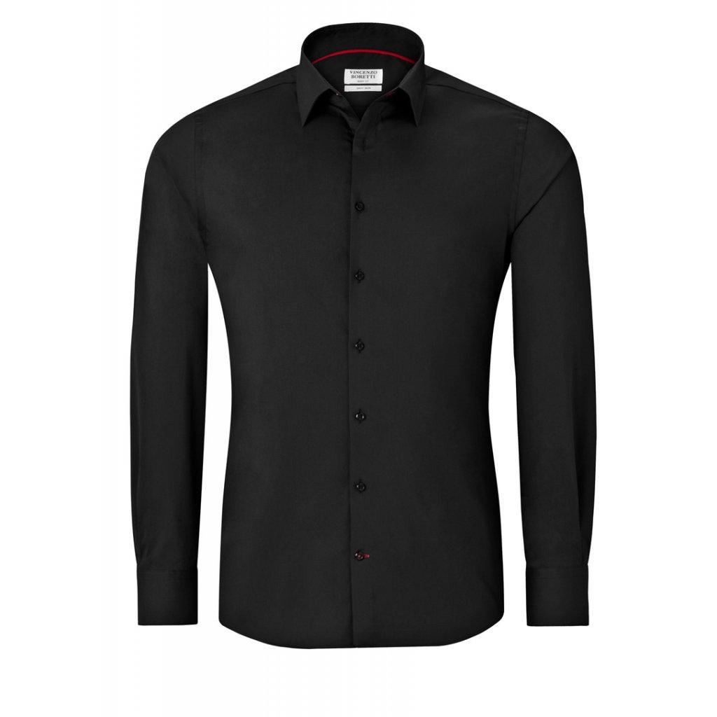 Vincenzo Boretti černá košile