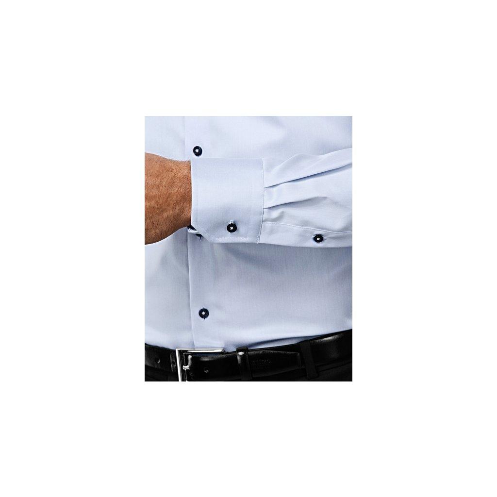 ... Ledově modrá košile Vincenzo Boretti ... 58a6bc3011