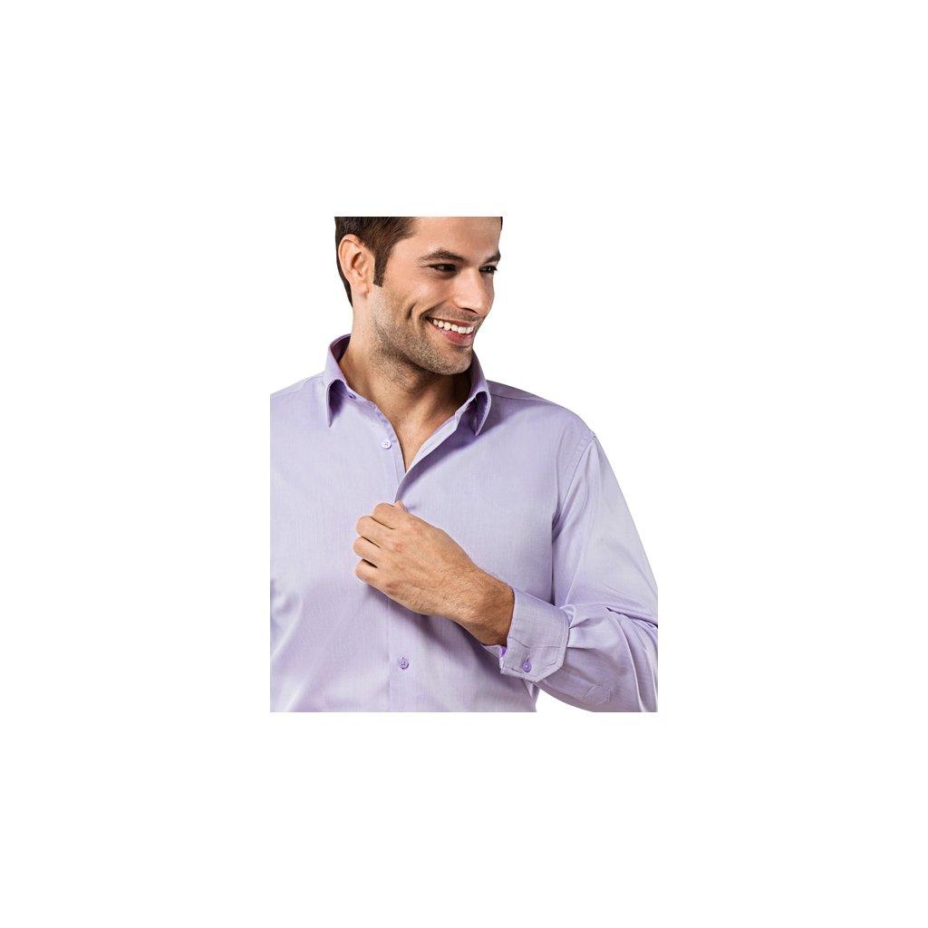 Světle fialová košile Vincenzo Boretti
