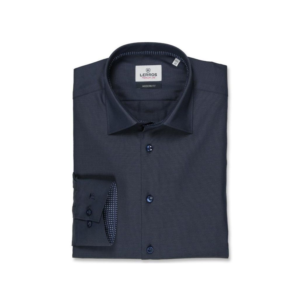 Tmavě modrá košile Lerros Premium Line