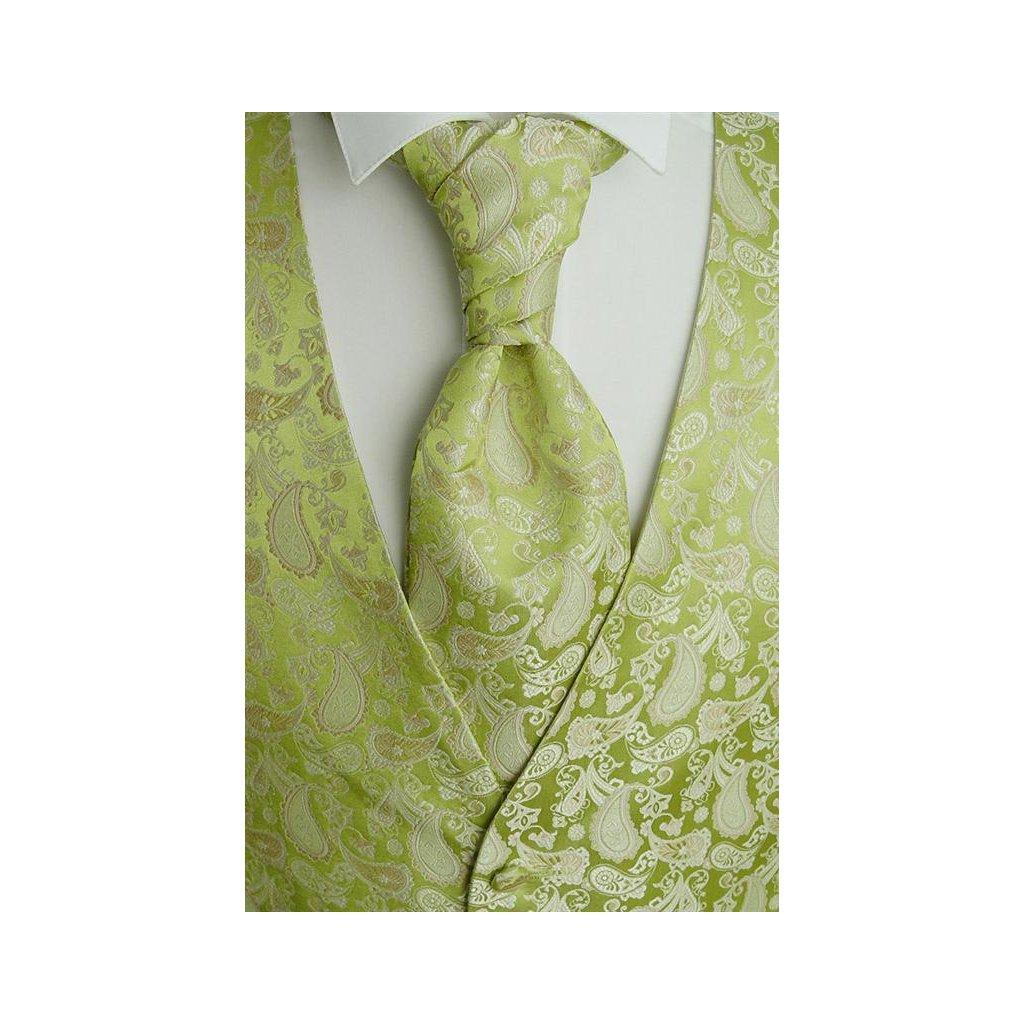 Svatební vesta Beytnur 13-4 kravata, plastron a kapesníček