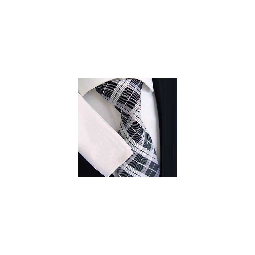 Beytnur 183-1 hedvábná kravata kostka