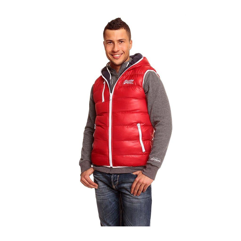 Pánská vesta ReRock červená - oboustranná
