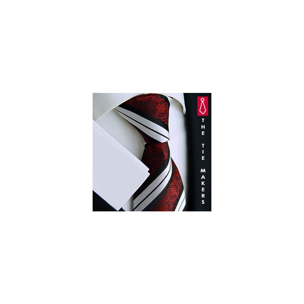 Elegantní tmavá kravata Beytnur 199-6