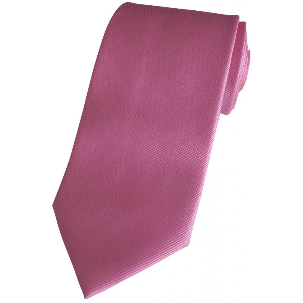 Svatební kravata světlá magenta Beytnur 76-7