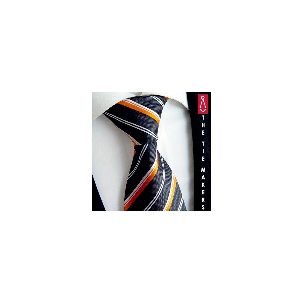 Elegantní  kravata Beytnur 118-2 100% hedvábí