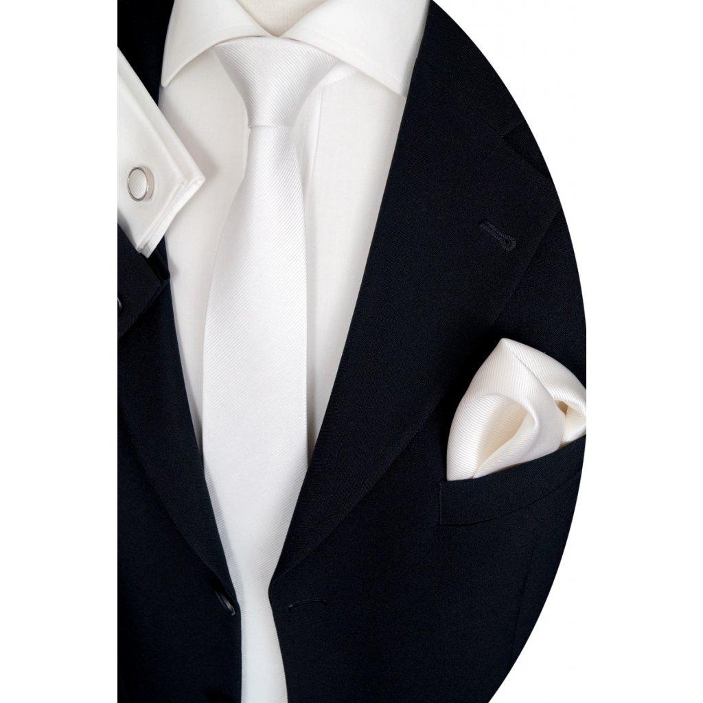 svatební set kravata kapesníček