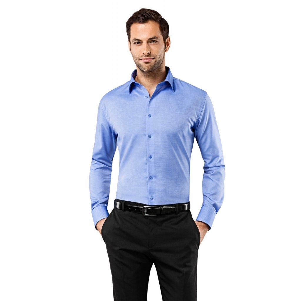 Modrá košile Vincenzo Boretti