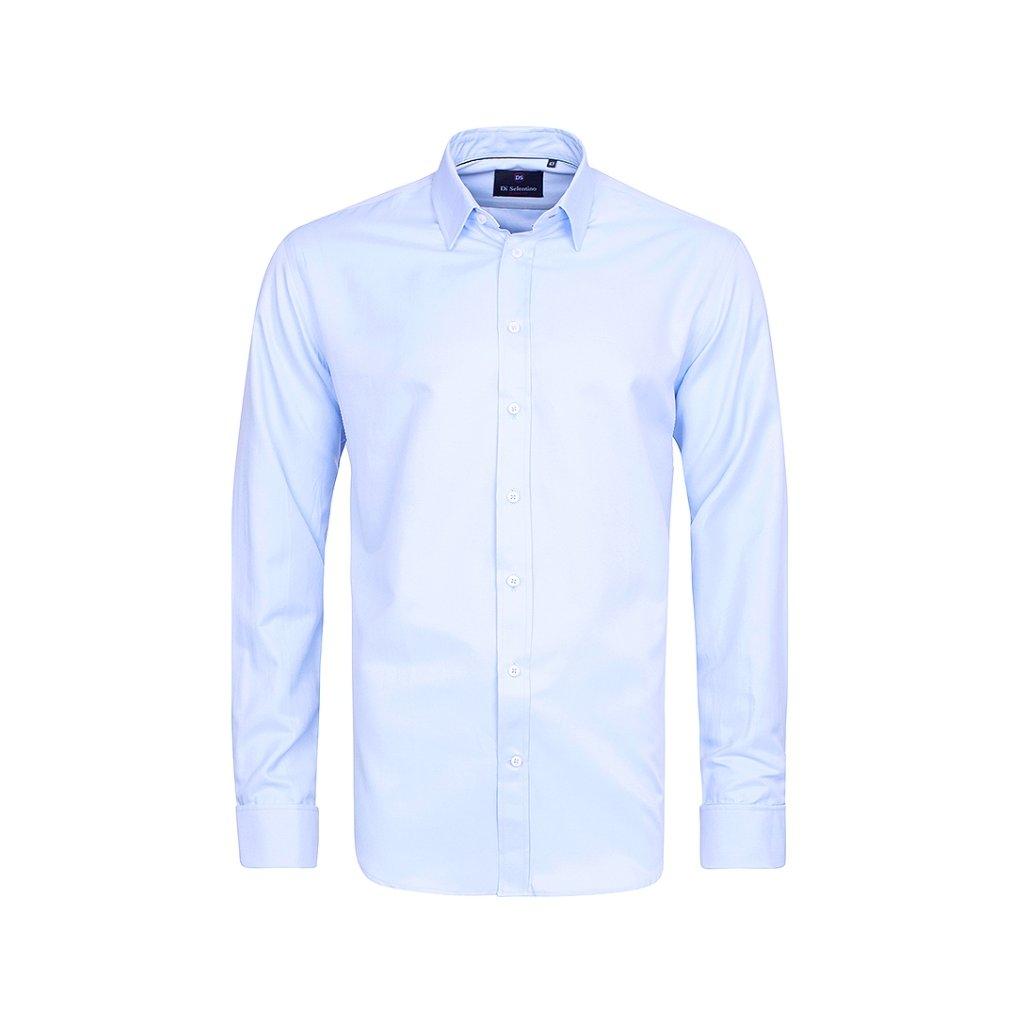 Světle modrá pánská košile Di Selentino Salzburg manžeta. Neohodnoceno. m b1a7ba06a7