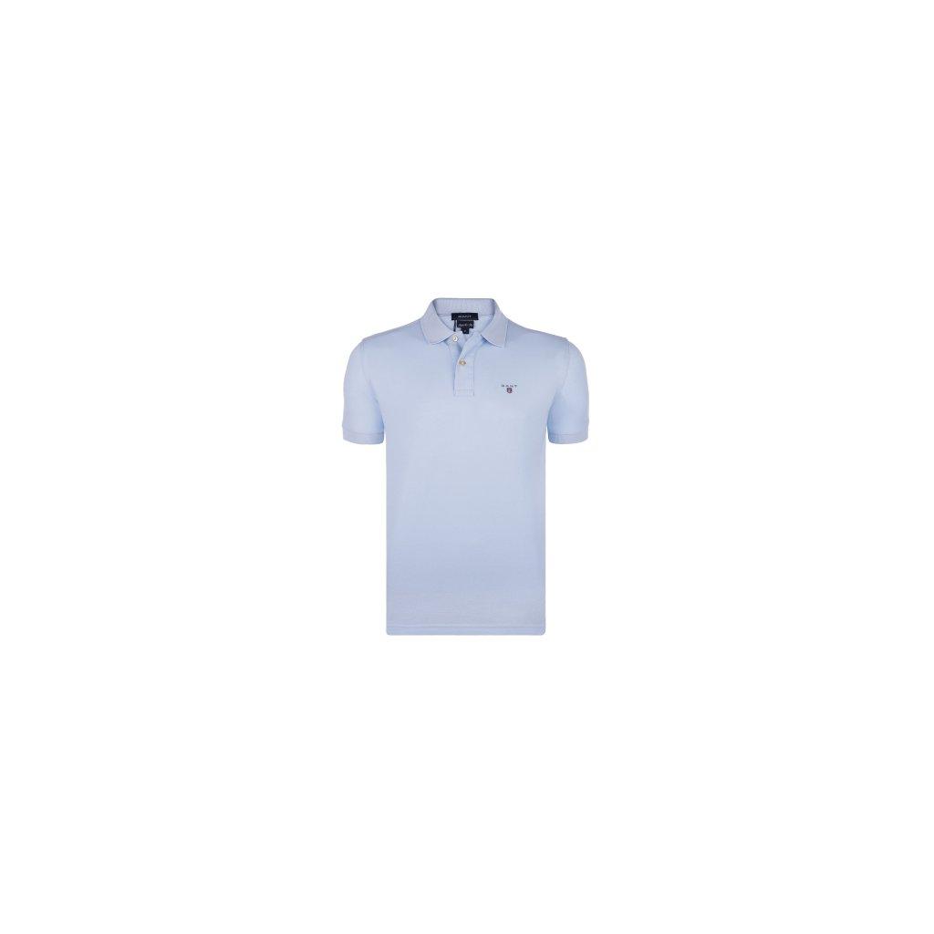 GANT pánská polokošile světle modrá - Luxusní móda 5c997d4e64