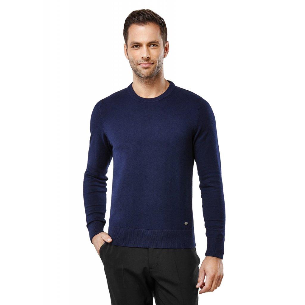 Pánský svetr Vincenzo Boretti - tmavě modrý. Neohodnoceno. 10030284 dark  blue 1 9728ce4583