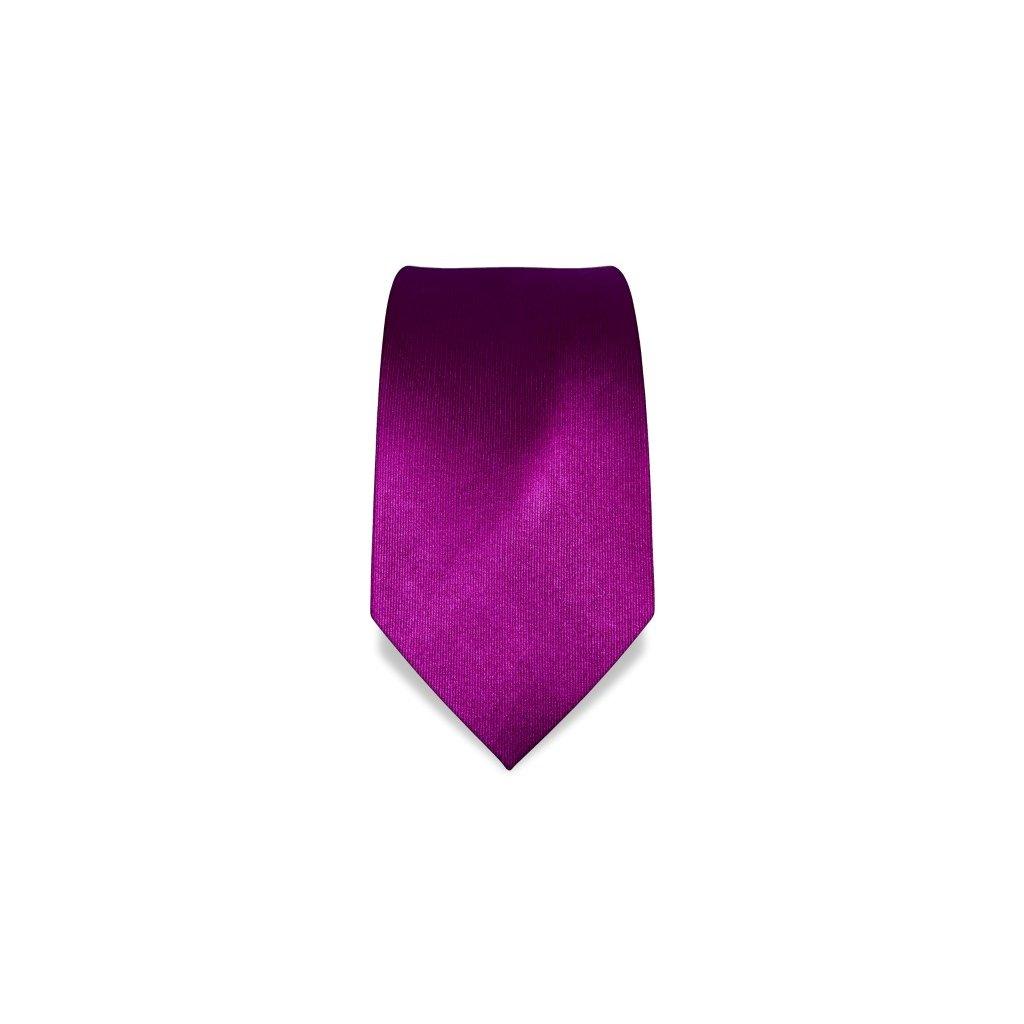 Luxusní kravata magentová Vincenzo Boretti