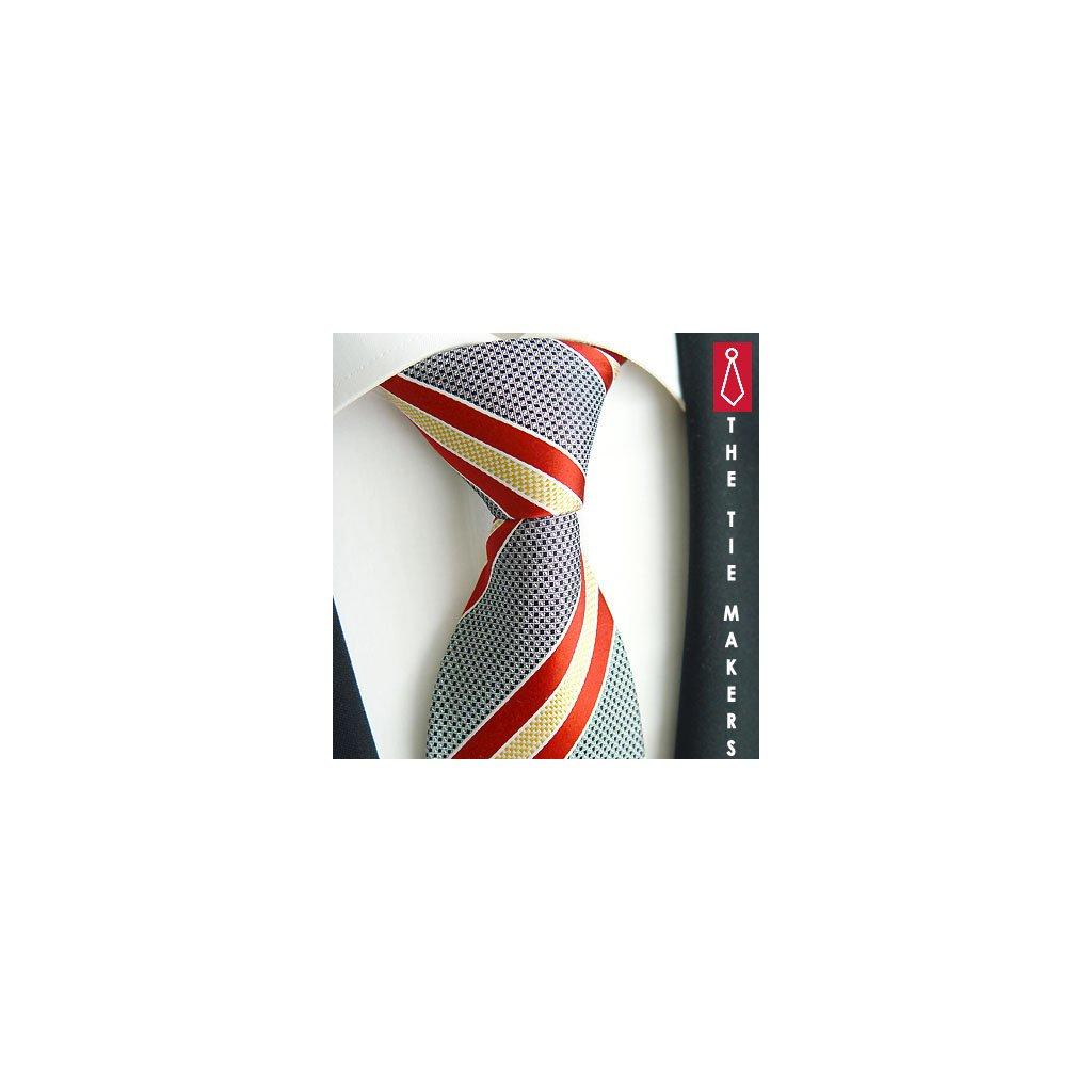 Luxusní barevná kravata Beytnur 218-3