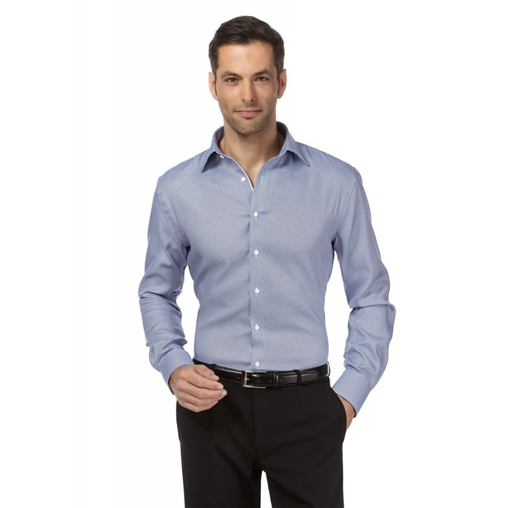 Pánská košile jemný vzor 10010779