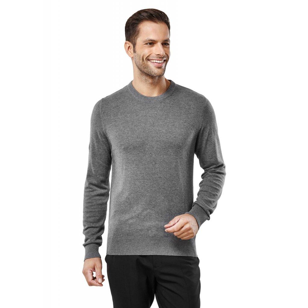 Pánský elegantní šedý svetr
