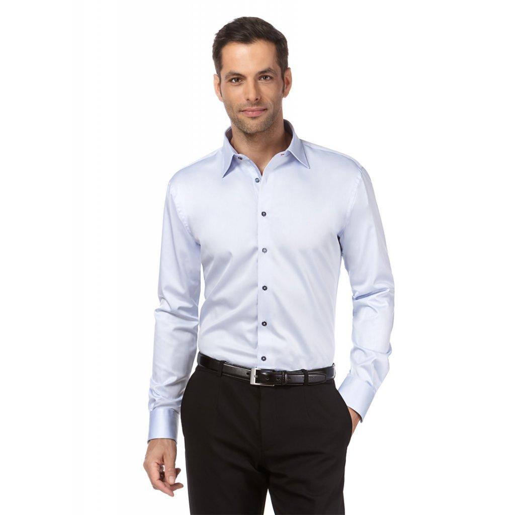 ledově modrá pánská košile