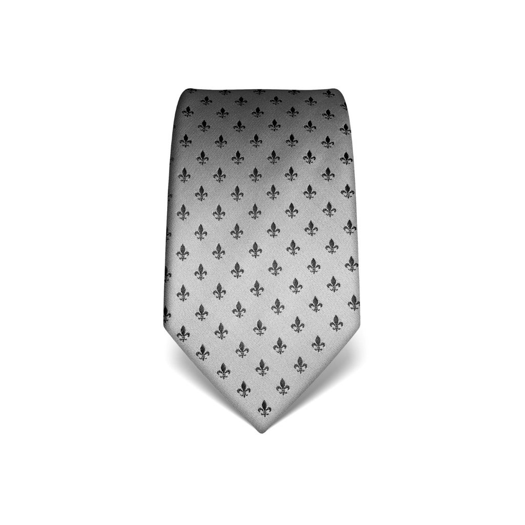 Lilie stříbrná kravata Vincenzo Boretti 21974