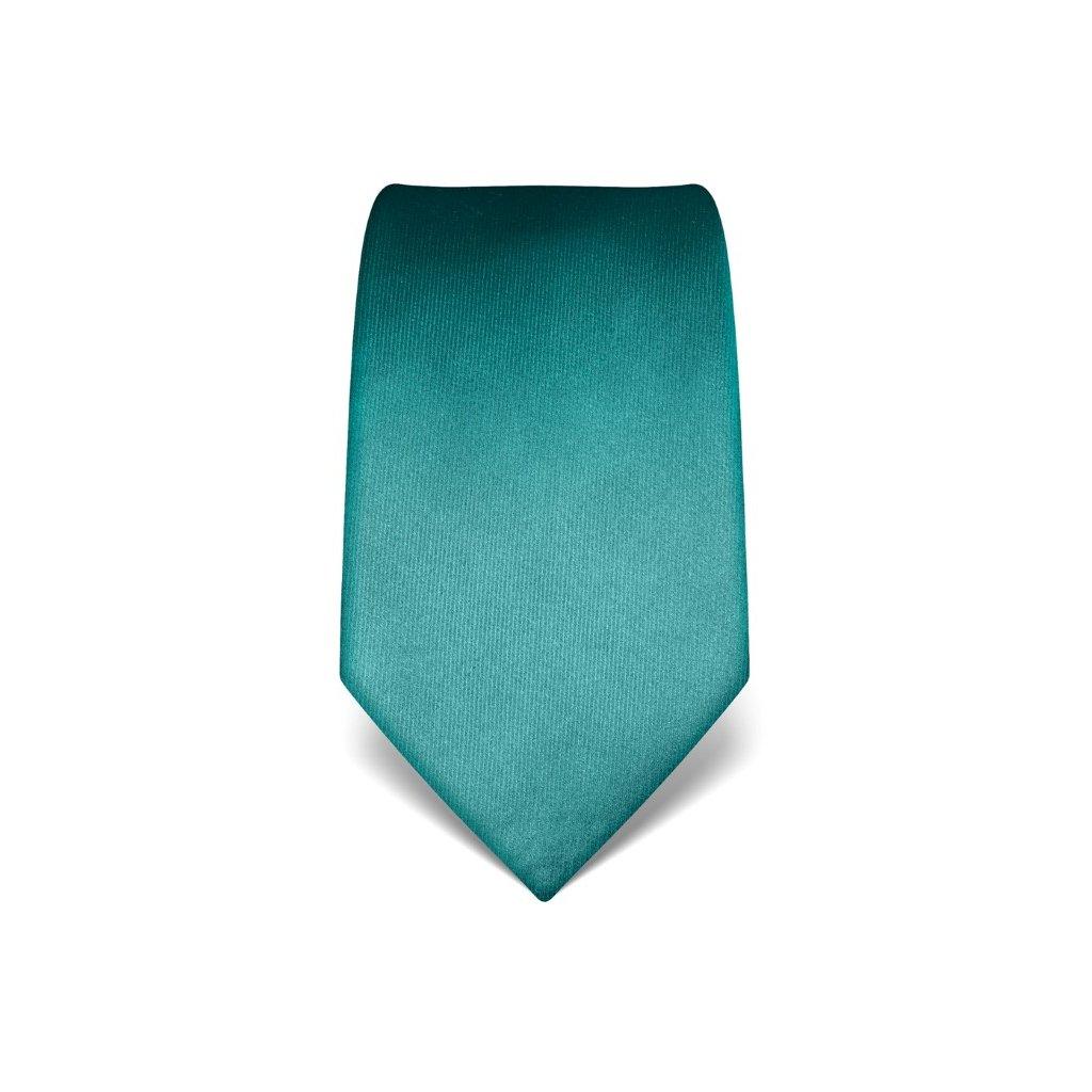 Luxusní smaragdová kravata Vincenzo Boretti 21978