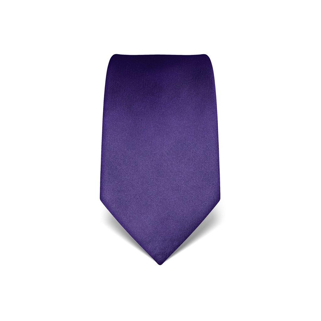 Luxusní modro fialová kravata Vincenzo Boretti 21926