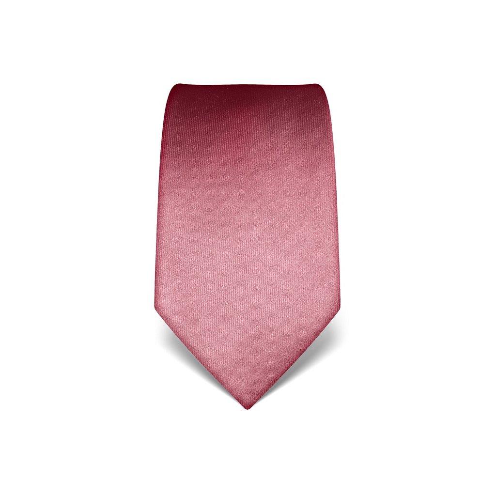 Luxusní starorůžová kravata Vincenzo Boretti 21978
