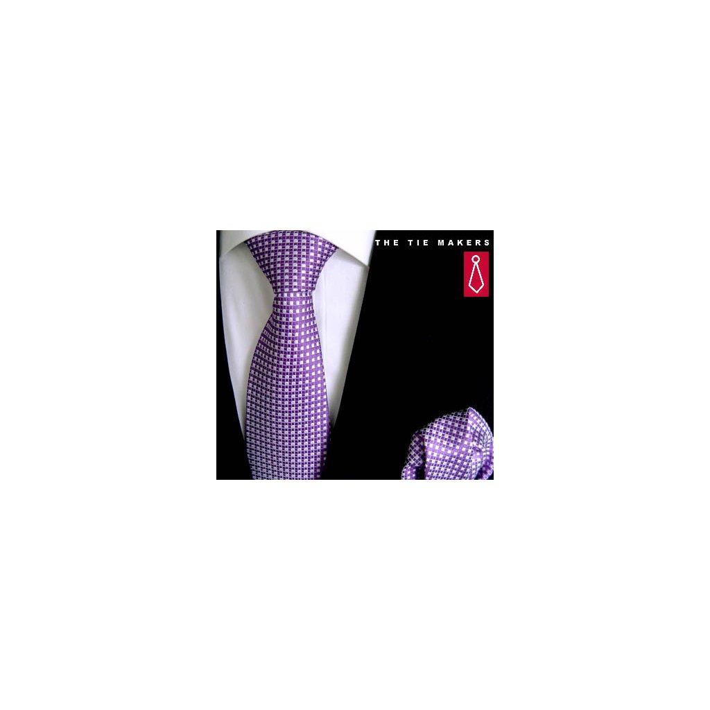 Beytnur 102-3 společenská kravata s kapesníčkem