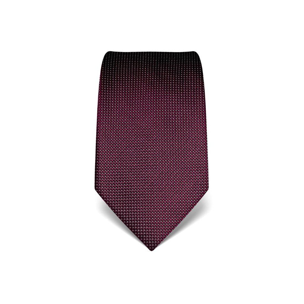 Elegantní kravata Vincenzo Boretti 21920 - lilek, jemná struktura